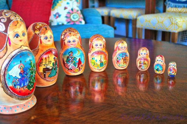 Russian Nesting DOlls 6