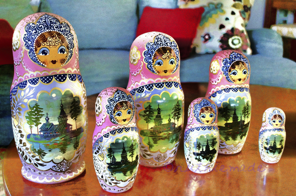 Russian Nesting Dolls July 24