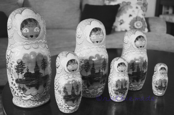 Russian Nesting Dolls July 31