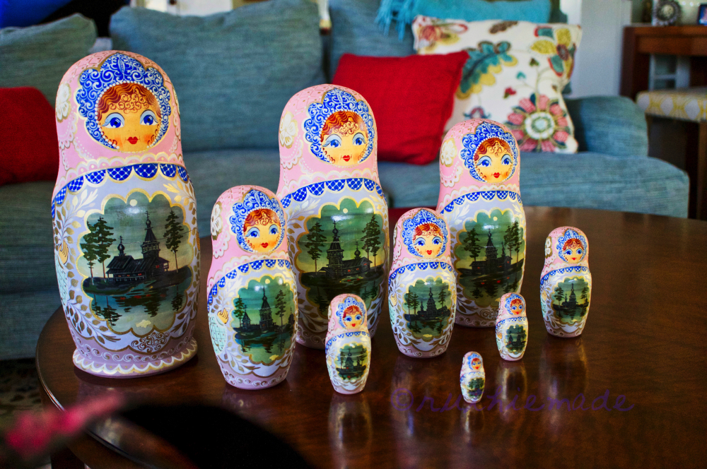 Russian Nesting Dolls August 7