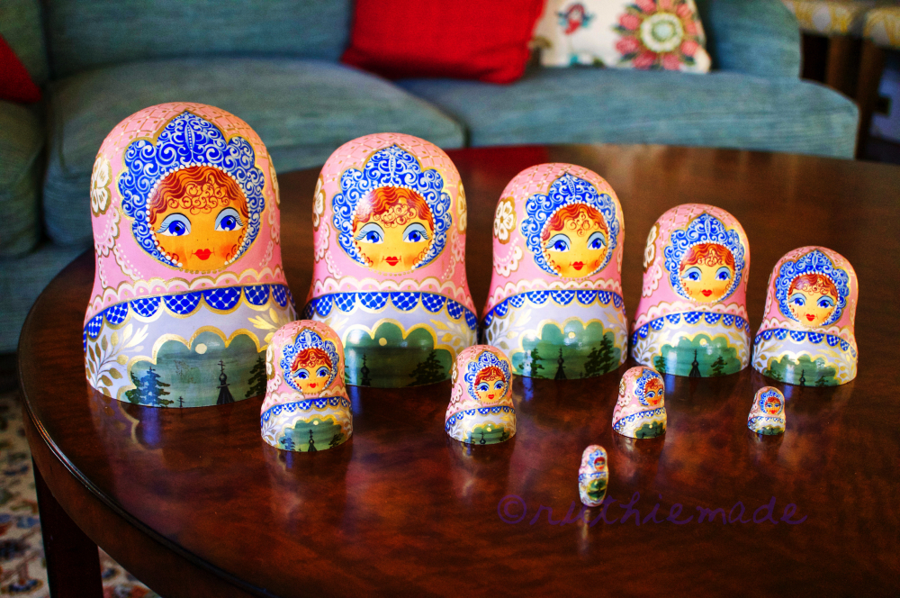 Russian Nesting Dolls August 21