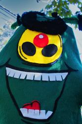 ST Plankton Scarecrow