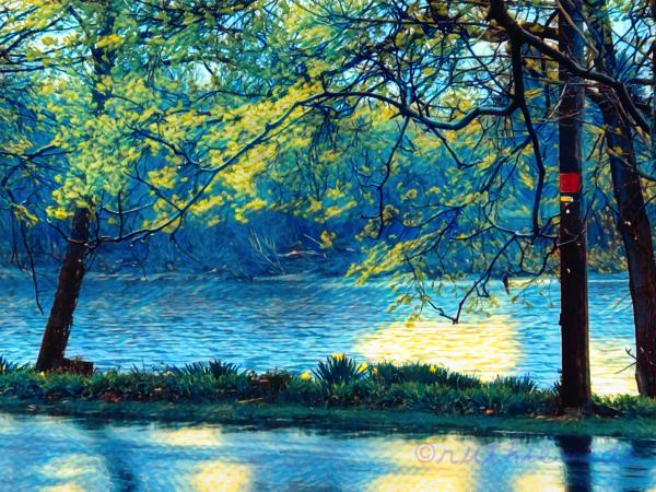 Van Gogh River