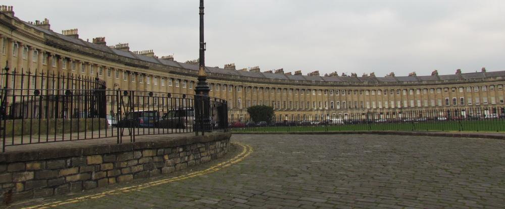 Royal Crescent in Bath