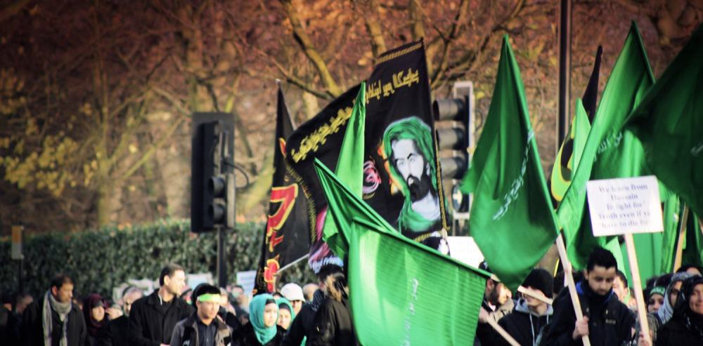 Ashura March in London 2012...