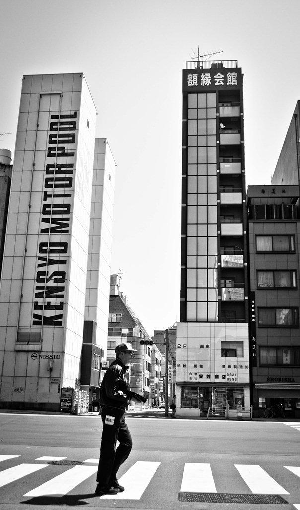 Tokyo Street B&W 2