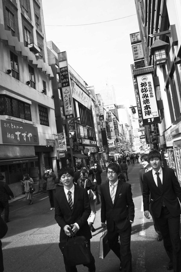 Tokyo Street B&W 5
