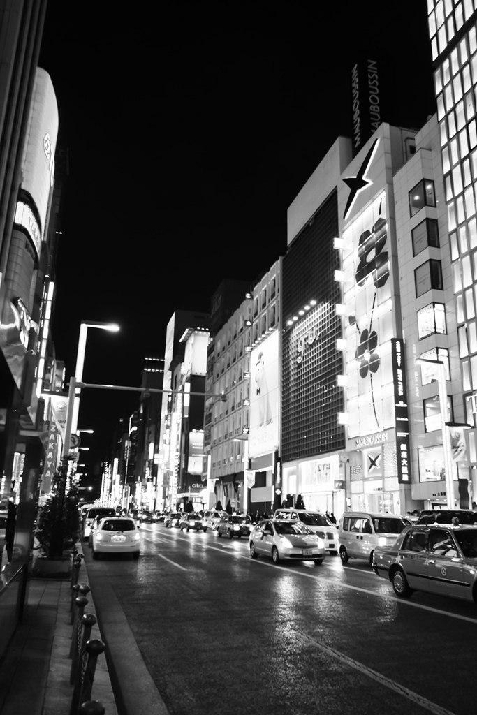 Tokyo Street B&W 8