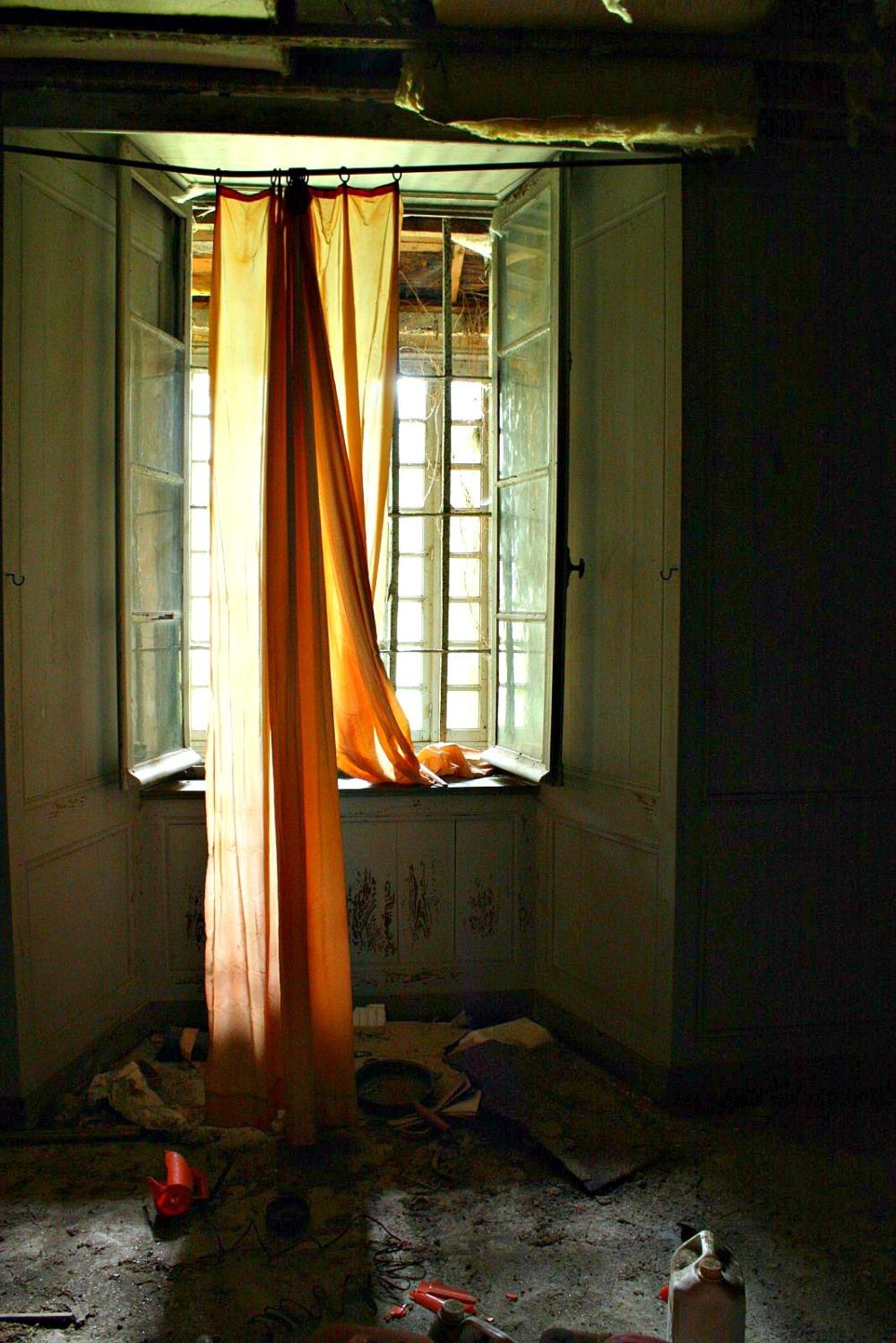 Tomber en rideau