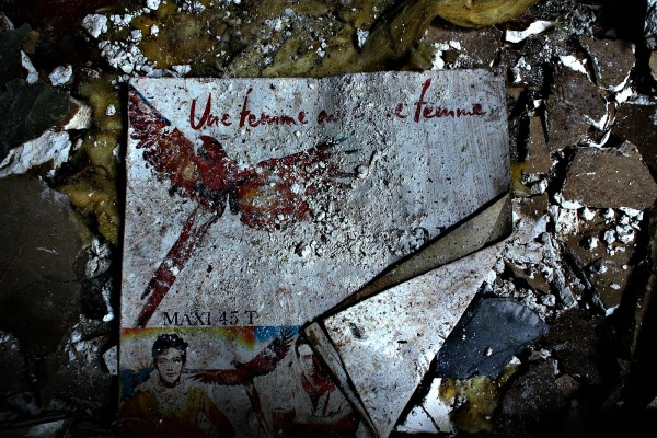 urbex, discothèque, disque vinyle,musique
