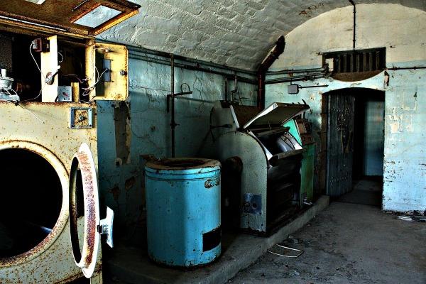 Prison break : la buanderie