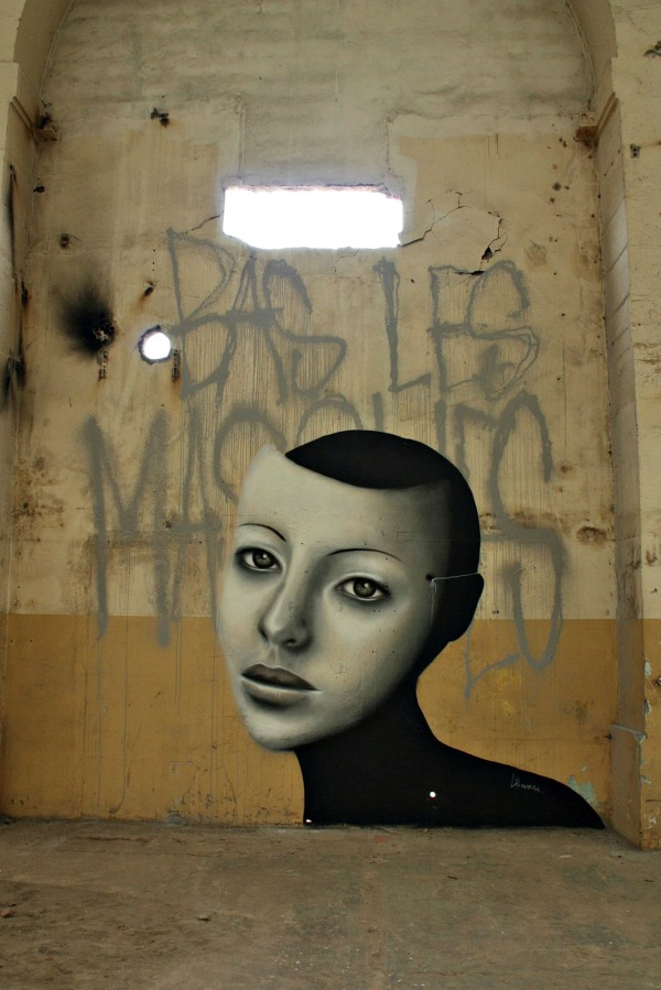 liliwenn,bas les masques,fresques,urbex,brest