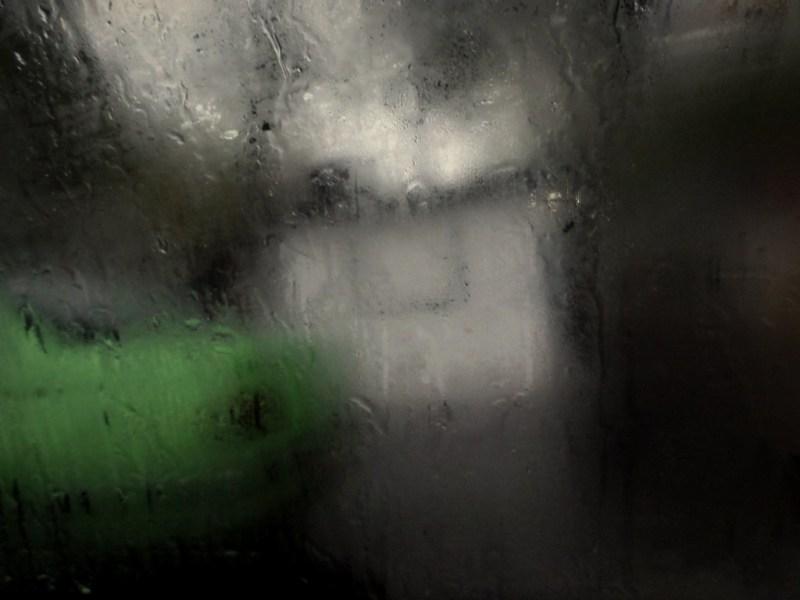 the rainy taxi...