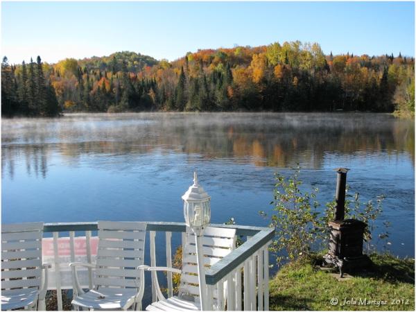 Canada, Quebec, autumn, lake, water