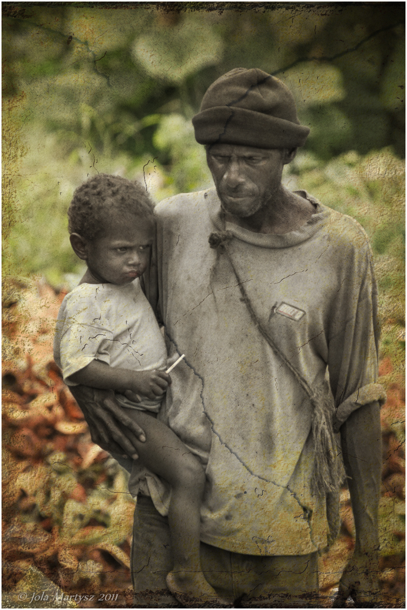 Poverty in Solomon Islands.