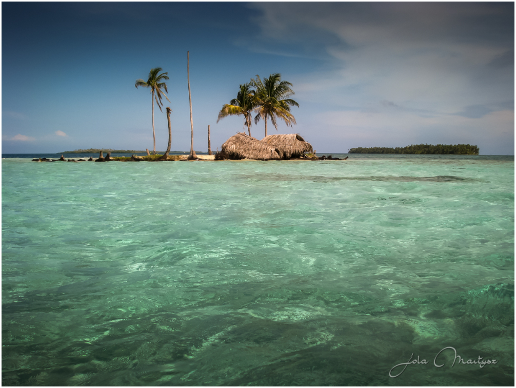 The San Blas Islands of Panama is an archipelago c