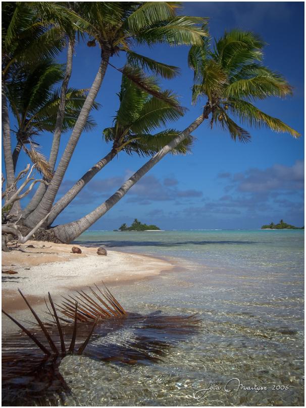 Fakarava Atoll in Tuamotus, French Polynesia