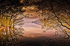 View across Ullswater Lake District