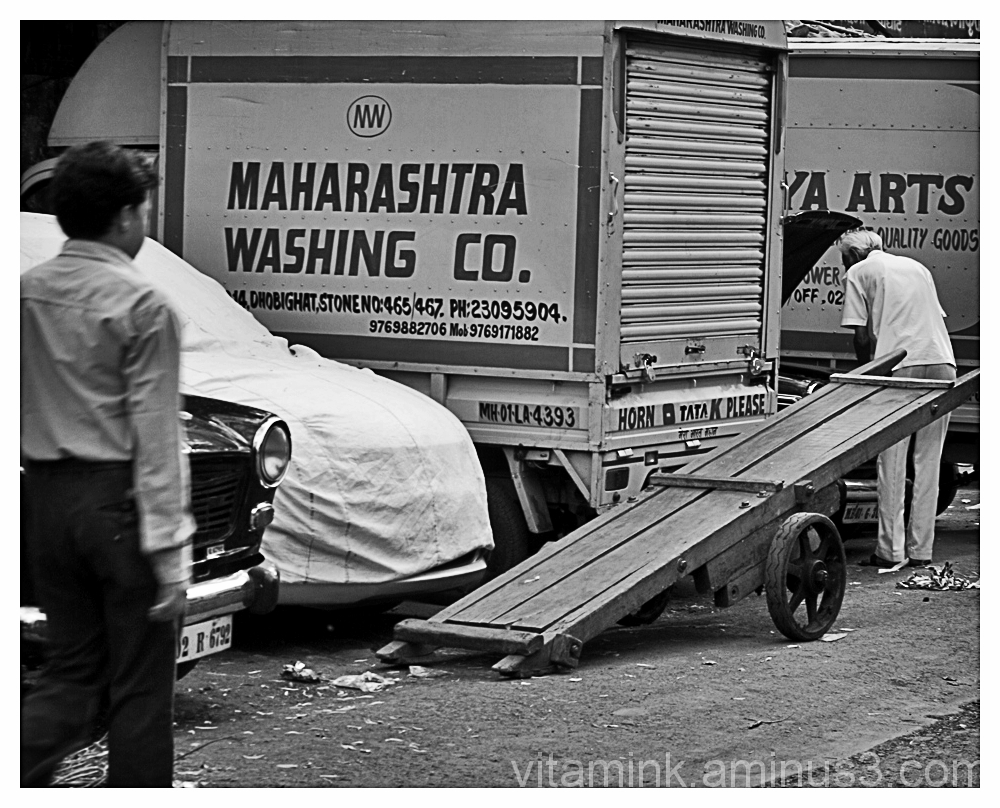 Dhobi Ghat (open air laundry)