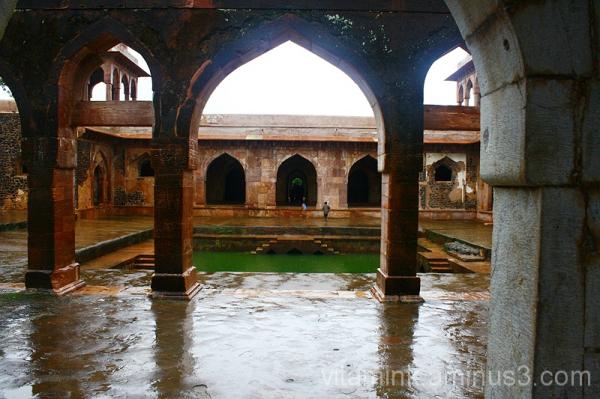 Courtyard with hammam (turkish bath)