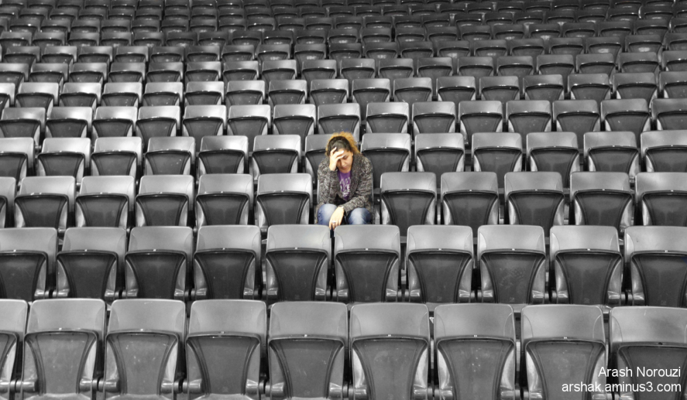 lonely in the crowd
