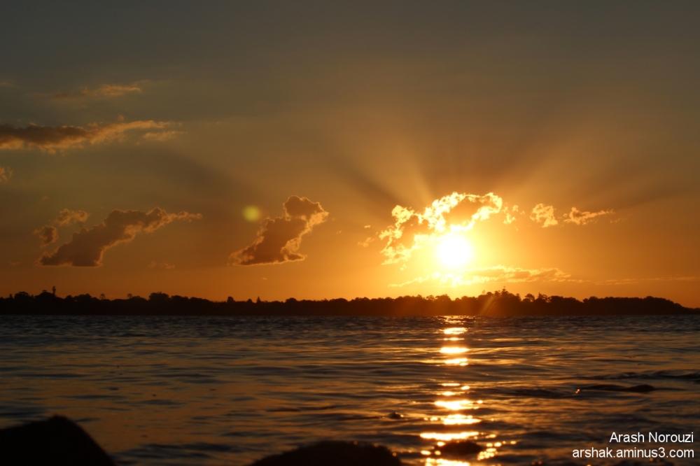 Sun Set ...