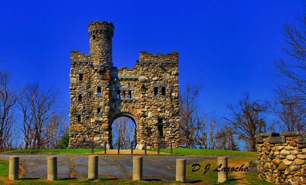 HDR - Bancroft Tower Castle