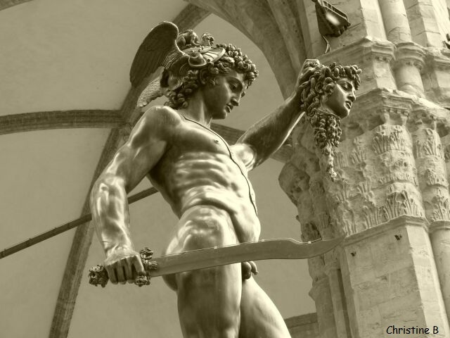 STATUE DE PERSEE A FLORENCE