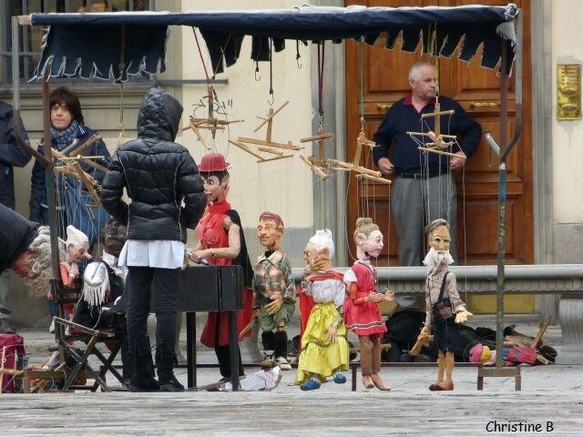 Les marionnettes de Florence