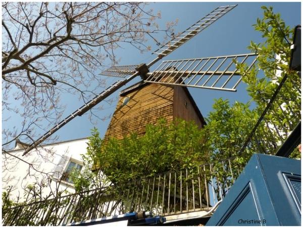 Le Moulin à Montmartre