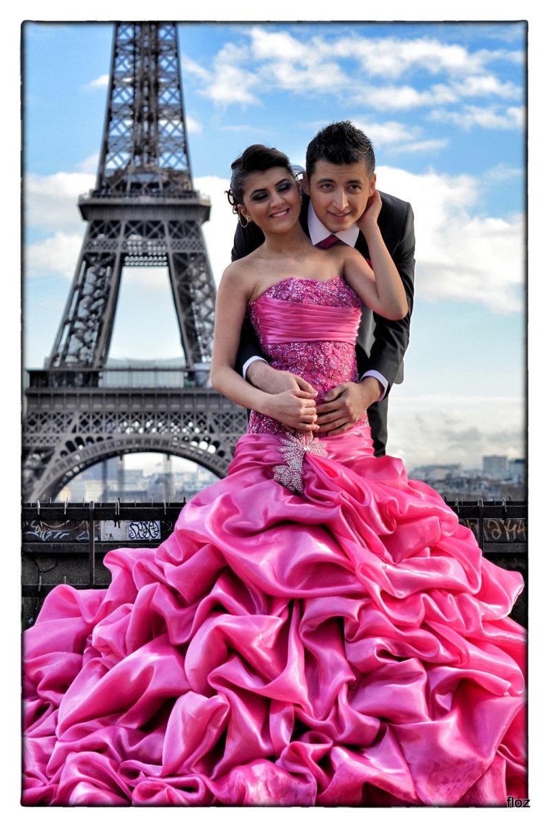les amoureux de la Tour Eiffel