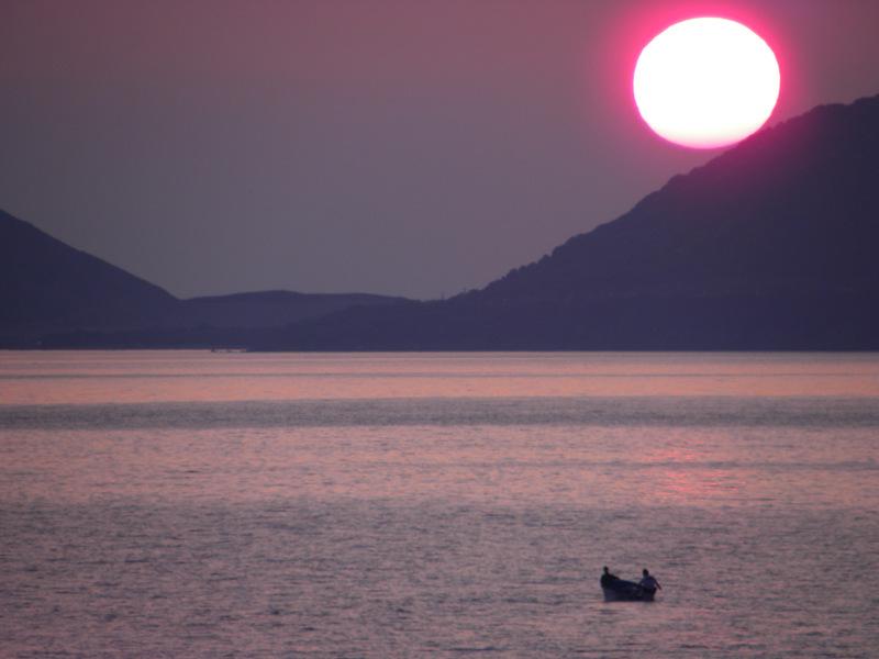 tramonto in Corsica