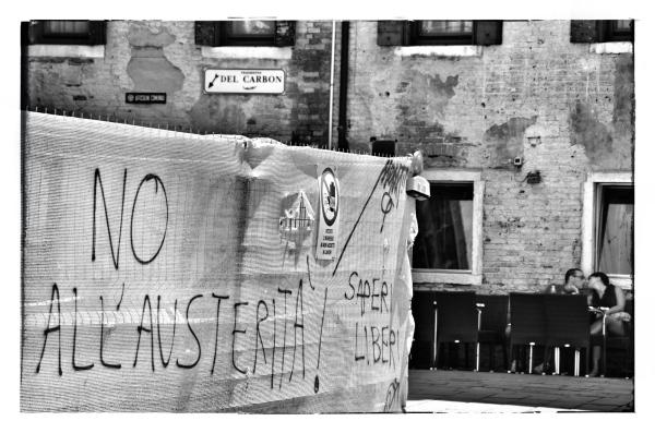 NO all'austerità
