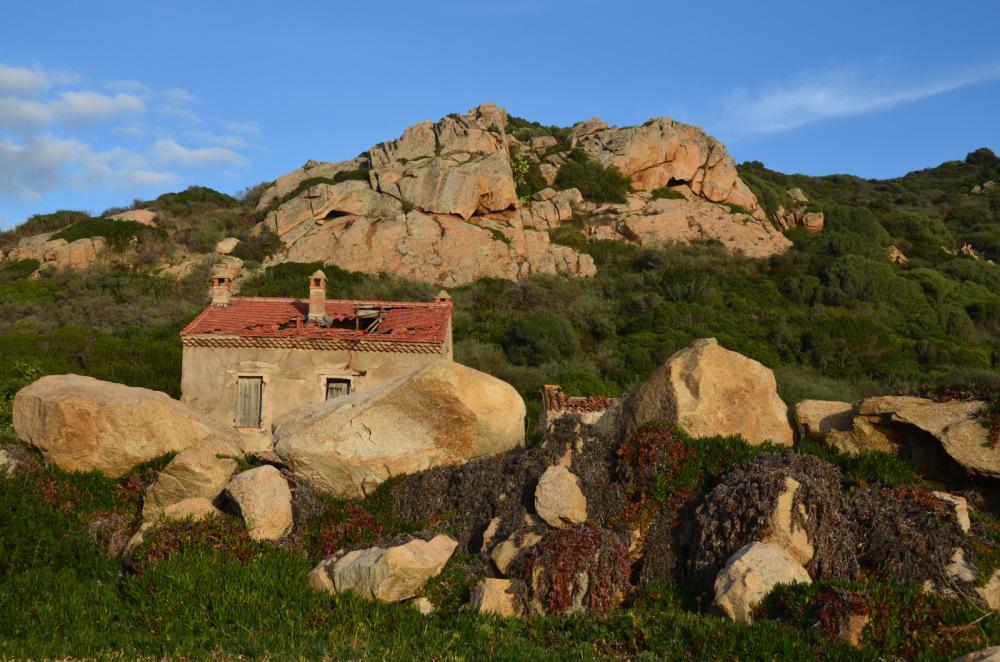 Paysage de la Corse en décembre