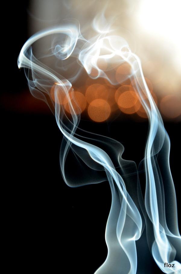 volutes partent en fumée...