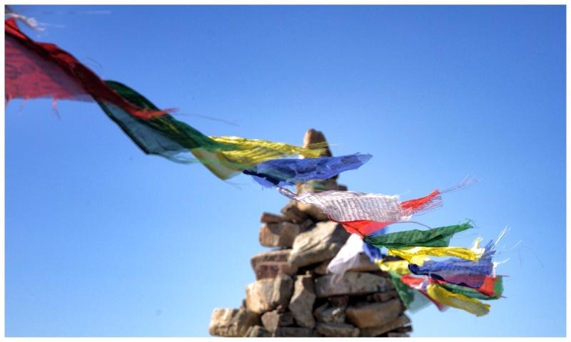 drapeaux à prières