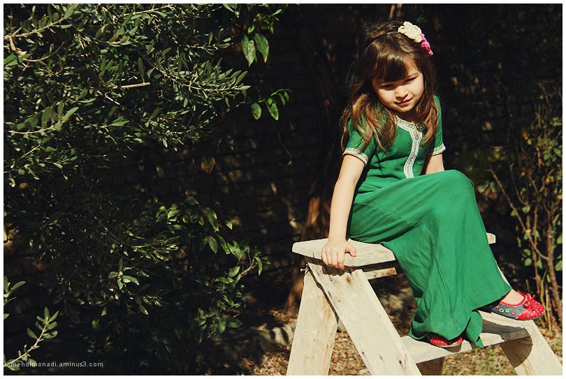 Dina, A Turkmen girl