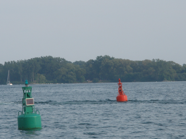 Red Green Buoys