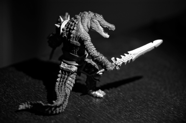 Croc Warrior!
