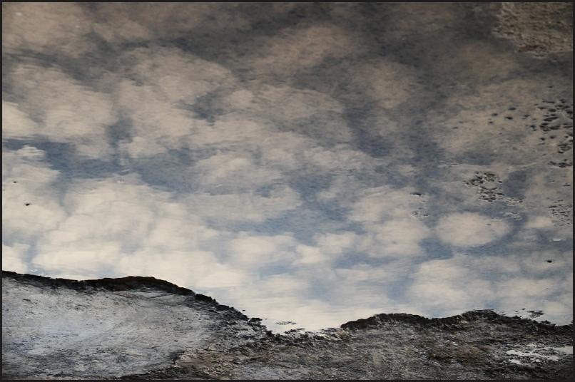 La flaque de nuages.