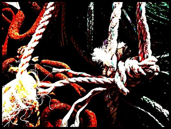 Rouille et corde (pour se pendre ?)
