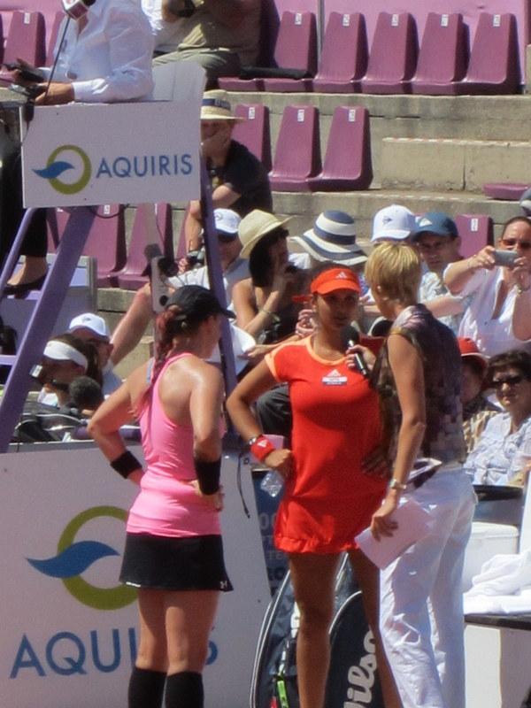 WTA Brussels open 2012