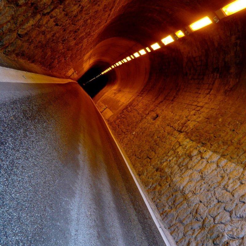 Le bout du tunnel.....