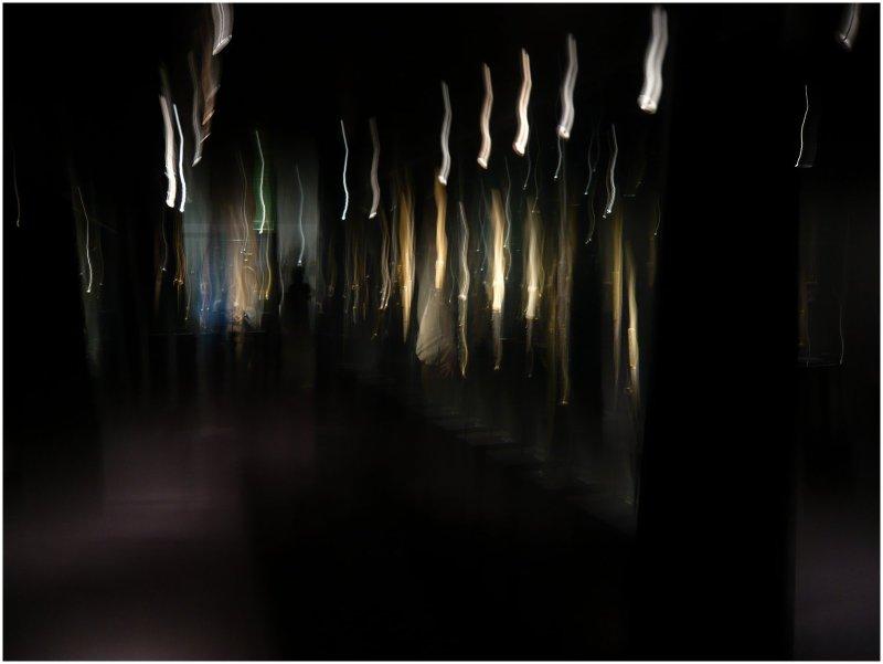 Cascades lumineuses.