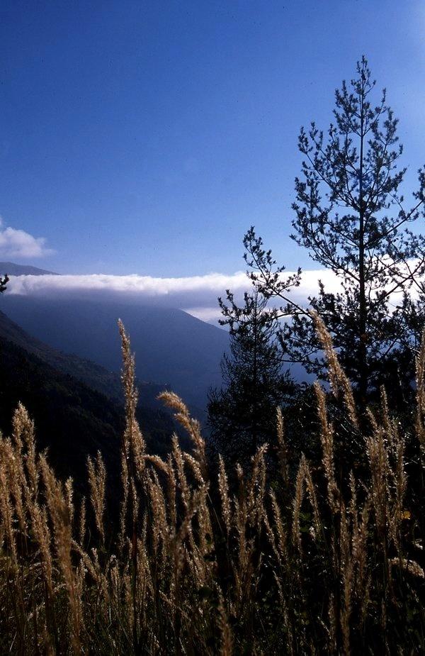 La montagne le matin.