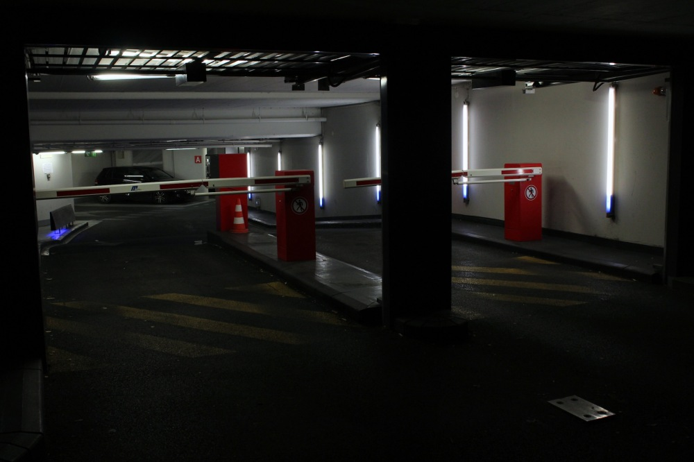 ... Le soir dans les parkings ...