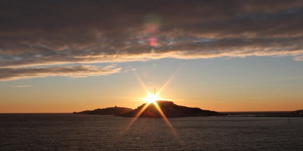 Derniers Rayons de soleil sur l'Archipel du Frioul