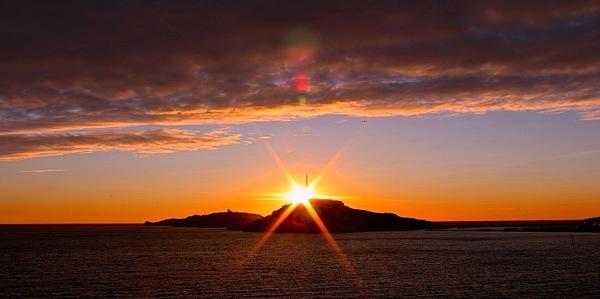 Sunset on Frioul