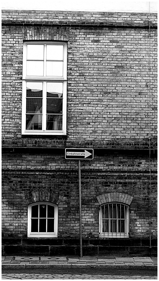 Signpost and windows