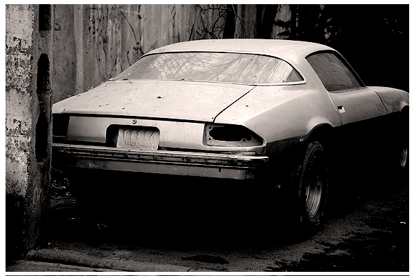 Old West Car in Today Tehran